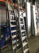 * 3 sets of step ladders