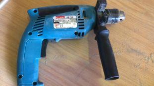* Makita Hammer Drill Model HP1500 110V Working Order