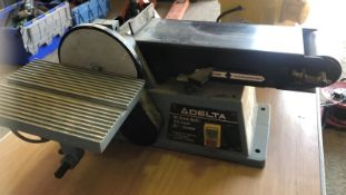 * DELTA Belt Sander Model 31-460 Type 2. 240v working order