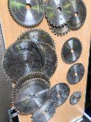 * 14 assorted blades