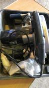 * EVOLUTION Steel Cutting Circular Saw Model No. EVO230 in case 110v Working Order