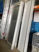 * Light / sign display boxes aluminium frame 240v size 2500mmx 500mm x 150mm
