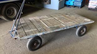 * Old Work Barrow Bed 6ft7 x 3ft4