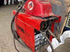 * Sealey super mig welder 150/1 240v with mask and bottle working order