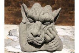 * Large Stone Sleepy Gargoyle