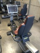 *Technogym 700 Series Recumbence Exercise Cycle with Touchscreen TV
