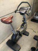 *Technogym 700 Series Upright Exercise Cycle with Touchscreen TV