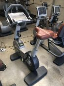 *Technogym 700 Series Upright Exercise Cycle with LED Panel