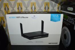 *Netgear AX1800 WIFI 6 Router