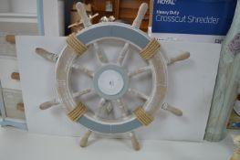 Nautical Bathroom Ships Wheel