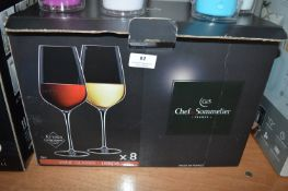 *Chef & Sommelier 8pc Wine Glass Set