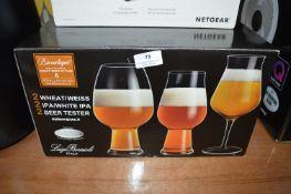 *6pc Italian Craft Beer Glass Set