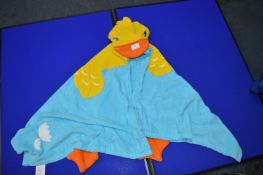 *Child's Towel Robe (Duck)
