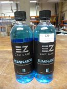 *2x 500ml of EZ Car Care Eliminator Paint Cleansing Panel Wipe