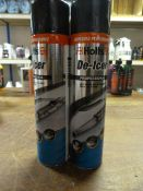 *2x 600ml of Holts Professional Deicer