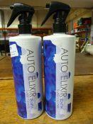 *2x 500ml of Auto Elixir Zenith Glass Cleaner
