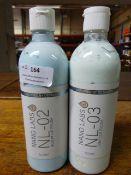 *2x 500ml of Nano Labs: NL-02 Medium Cut Polish and NL-03 Light Light Cut Polish