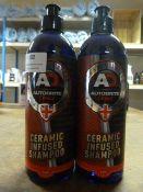 *2x 500ml of Autobrite Ceramic Infused Shampoo