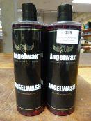 *2x 500ml of Angel Wax Self Drying Shampoo