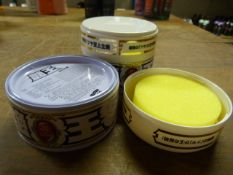 *Two Tins of Japanese Car Wax