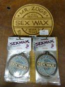 *Display Board: Mr. Zogs Sex Wax Air Fresheners