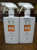 *2x 500ml of Autoglym Wheel Cleaner