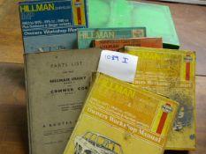 Workshop Manual for Hilman, Husky Imp, Hunter & Avenger