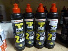 *4x 250ml of Menzerna Medium Cut Polish