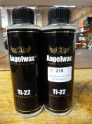 *2x 250ml of Angel Wax Ti22 Titanium Spray Sealant