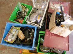 Pallet of Assorted Electrical Items, Electric Window Winders, Spotlights, etc.