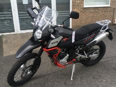 SWM SuperDual 600x motorcycle, Unregistered ZN0B400ABKV000466 COC present - RRP £8499