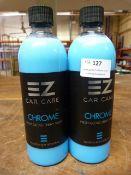 *2x 500ml of EZ Car Care Chrome High Gloss Spray Wax