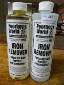*2x 500ml of Poorboy's World Iron Remover