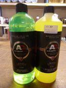 *1x 1L of Autobrite Wheel Cleaner and 1x 1L of Autobrite Citrus Wash