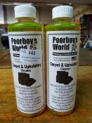 *2x 500ml of Poorboy's Carpet & Upholstery Cleaner