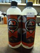*2x 1L of Autobrite Fabri-Clean Fabric Cleaner