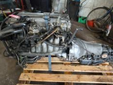 Mercedes Benz 280sl 110 Series Engine - Automatic Gearbox (Starter Motor, Complete Injection System)