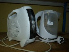 *Electric Heater, and a Kettle