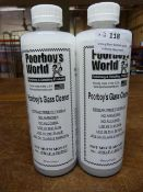 *2x 500ml of Poorboy's World Glass Cleaner