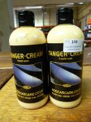 *2x 500ml of ADS Tangerine Cream Liquid Wax