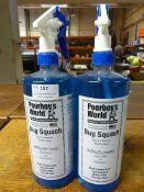 *2x 1L of Poorboy's World Bug Squash Bug & Tar Remover