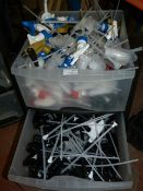 *Two Drawers Containing Spray Bottle Caps