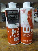 *2x 500ml of Gtechniq W9 Water Spot Remover