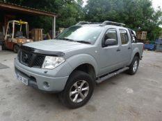 *Nissan Navara Crew Cab Pickup 4x4 Reg: MT06 XME, MOT: Jan 2022, Mileage: 259635