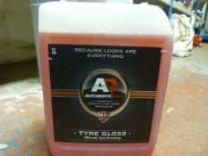 *5L of Autobrite Tyre Gloss Dressing