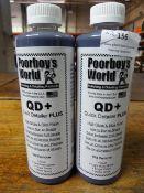 *3x 500ml Poorboy's World Quick Detailer Plus