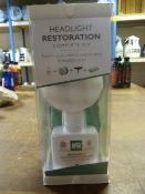 *Autoglym Headlight Restoration Kit