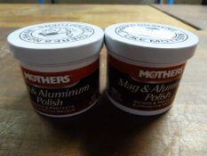 *2x 141g of Mothers Mag & Aluminium Polish