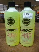 *2x 500ml of Infinity Wax Insect Strip