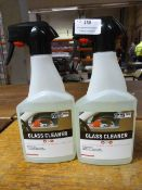 *2x 500ml of Valet Pro Glass Cleaner